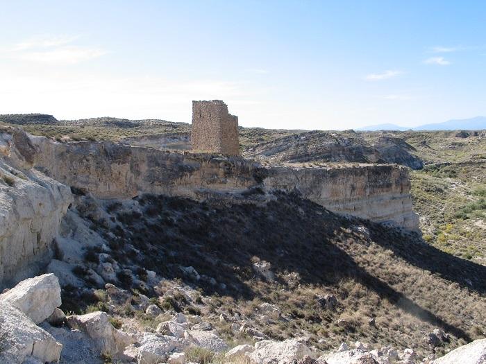 La torre de Muros vista desde el este.