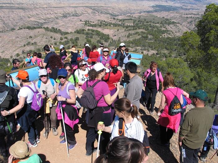 Excursión a Monte Pajarillo para celebrar el Día de la Mujer