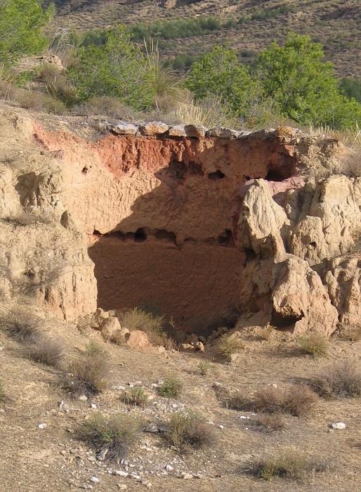 Horno de Cal, Cortijo de Becerra (Guadix)