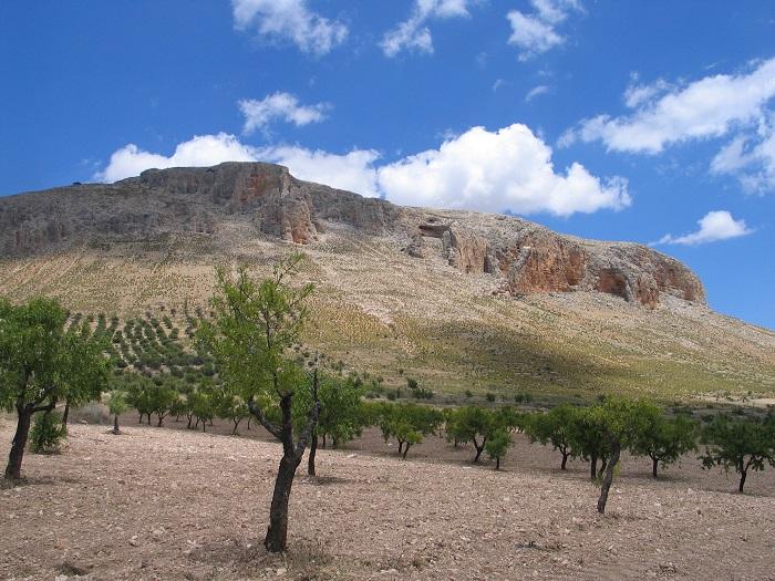 Tajos del Cerro Mencal (Pedro Martínez, Granada)